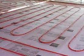 heated bathroom flooring. Install A Radiant Heating System Heated Bathroom Flooring R