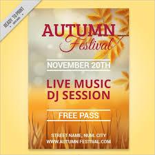 Fall Festival Flyers Template Free 46 Fall Flyer Templates Free Psd Word Design Ideas