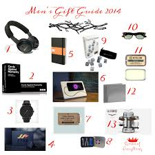 Mens Gift Guide 2014 | Queen of Everything