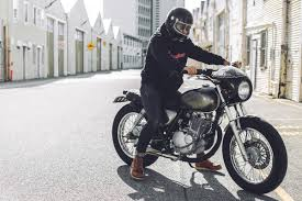 being born and raised in a country with tight restrictions on motorcycle customisation and dangerous riding conditions only added fuel to the fire for