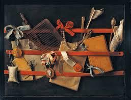 trompe l œil still life by samuel dirksz van hoogstraten 1627 1678 1664