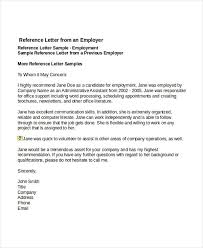job reference basic employment reference letter template 42 reference letter