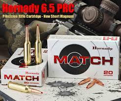 6 5 Prc Ballistics Chart New Hornady 6 5 Prc Precision Rifle Cartridge Daily Bulletin