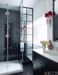 Inspiringry Bathroom Decorating Ideas Black And White Decor Design ...