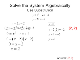 fresh solving systems of equations by substitution worksheet luxury systems linear and quadratic equations worksheet doc
