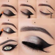 smoky black eye make up for small eyes you