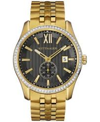 wittnauer men s gold tone stainless steel bracelet watch 43mm wittnauer men s gold tone stainless steel bracelet watch 43mm wn3032