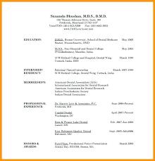Medical School Resume Samples Dentist Resume Sample Resume Doctors
