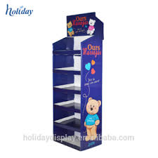 Teddy Bear Display Stands Amazing Shopping Teddy Bear Display StandCustom Cardboard Display Rack
