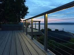 fabulous lighting design house. Fabulous Railing Lights Led For Your Home Decor: Alluring Outdoor String Lighting Design House D
