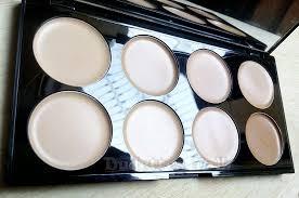makeup revolution cover conceal palette in light um