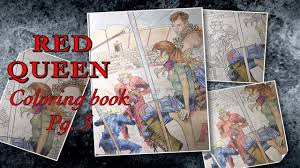 red queen coloring book fresh sd draw red queen coloring book pg 3