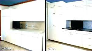 how to paint laminate kitchen cabinets with chalk uk cabinet doors painting replacement