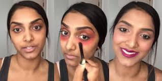 conceal dark circles under eyes using lipstick