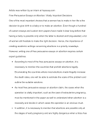argumentative essay example on abortion outline order persuasive   for and against essay of abortion persuasive essays on wrusj persuasive essays on abortion essay full