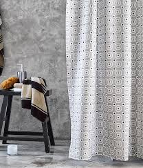 trending in bathroom decor 50 shades of grey shower curtains 7