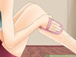 image led remove hair without shaving step 2
