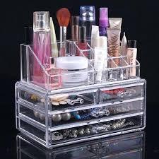 clear makeup organizer drawers acrylic makeup organizer clear box cosmetic cases with drawers design acrylic makeup
