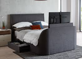Bed With Tv Built In Stylish Tv Beds With Led Flat Screens In All Bed Sizes Dreams