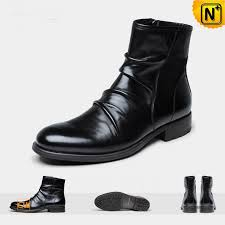 black leather ankle booties cw726505 cwmalls com