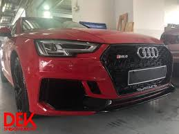 <b>Audi A4 B9</b> upgrade front to RS4 Bodykit.... - Division Euro Kit ...