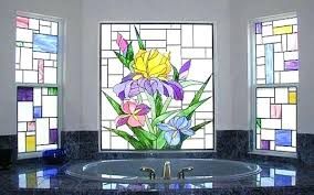 window glass painting designs for beginners hobby lesson on windows removable