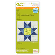 GO! Ohio Star-12  Finished |AccuQuilt| & GO! Ohio Star-12