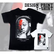 Iconic Homme デザインプリントtシャツ ニット帽の男性ロックtシャツ