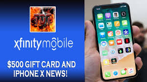 get a 500 gift card from xfinity mobile what a deal