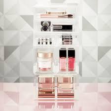 Luxe Acrylic Small Makeup & Nail Polish Storage Kit