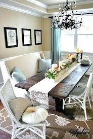 amazing dining table runners collection dining table with couch seating fall table centerpiece ruffled burlap table