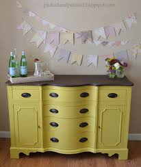 mustard yellow furniture. Custom Mustard Yellow Buffet Furniture