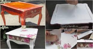 diy decoupage furniture. DIY Decoupage Furniture With Napkins Diy S