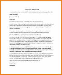 Academic Appeal Letter Best Examples Of An Appeal Letter Bire44andwap