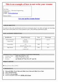 Cover Letter Download Sample Resume Format In Word Document New