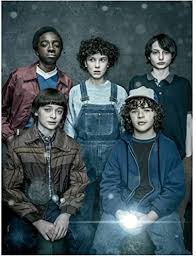 Stranger Things Millie Bobby Brown as Eleven with Mike, Dustin, Lucas and  Will 8 x 10 Inch Photo at Amazon's Entertainment Collectibles Store