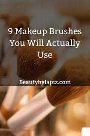 9 makeup brushes you will actually use