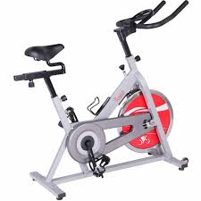 Chain Drive Indoor Cycling Trainer Exercise Bike Silver By Sunny