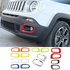 <b>SHINEKA ABS Car</b> Exterior Insert Trim Front Grille Cover Ring ...