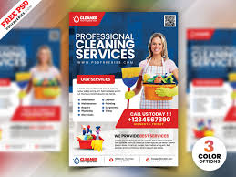 House Cleaning Services Flyers Cleaning Service Flyer Psd Psdfreebies Com
