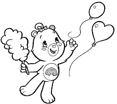 Small Picture Care Bears Coloring Pages Cheer Bear Coloring Me