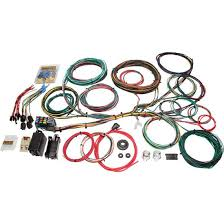 painless 10123 1966 1976 ford muscle car 21 circuit wiring harness 66 76 ford 21 number of circuits fuse block included dash ignition key location