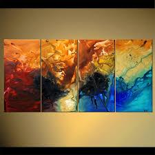 modern canvas art. Abstract Artwork Modern Canvas Art 2