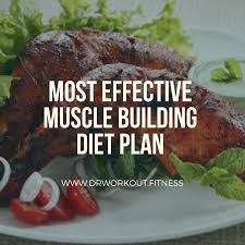 Most Effective Muscle Building Diet Plan Dr Workout
