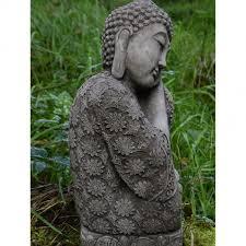 sleeping welsh buddha statue hand cast