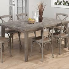Cottage Style Kitchen Table Burnt Grey Coastal Rectangle Dining Table The Burnt Grey Coastal