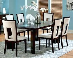 dining chairs ebay leather dining set leather dining set adorable fl white dining room set with