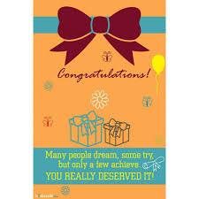 Congratulations Poster Buy Cool Motivational Promotional Souvenirs From Muskurado Com