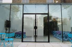 secure glass doors
