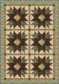 Addisons Star Quilt Pattern by Backporch Design Inc & ... Addison's Star Quilt Pattern. Image 1 Adamdwight.com